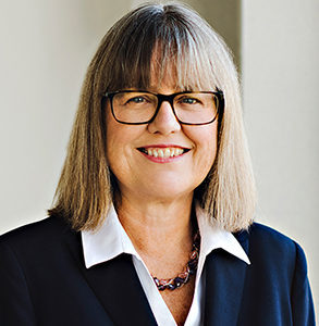 Headshot of Dr. Donna Strickland, 2018 Nobel Prize Winner in Physics.